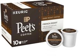 Peet's Coffee French Roast 60 K-Cup Pods Arabica Bold Smokey - $45.70