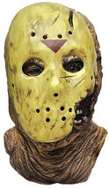 Mens Adult FRIDAY THE 13TH Deluxe Jason Voorhees Halloween Overhead Mask - $59.99