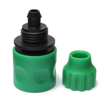 3/8 Inch Garden Water Hose Fast Joint Plastic Spray Nozzle Connector Fit... - $3.82