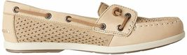 Sperry Top-Sider Women's Coil Ivy Linen Scale Emboss Boat Shoes STS80256 NIB image 3