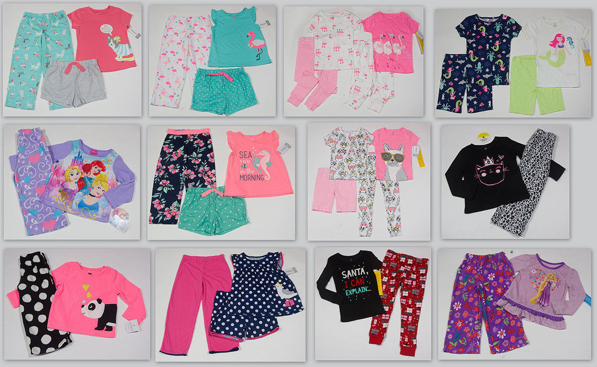 27c541367945 Nwt Girls 2 3   4 Piece Pajamas Set 2T 3T 4T and 13 similar items