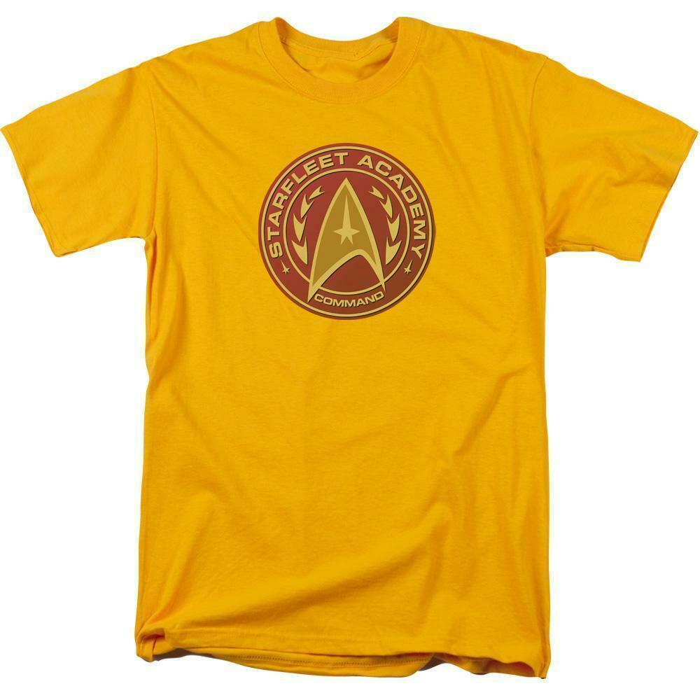 Starfleet Academy Command logo t-shirt retro sci-fi graphic tee CBS837