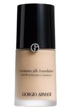 Giorgio Armani Luminous Silk Foundation 4,25  1 Ounce - $54.45