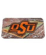 Oklahoma State Cowboys License Plate Crystal Mirror Stadium Design Speci... - $30.30
