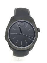 Movado Bold Motion Mens Black Dial Rubber Strap Swiss Quartz Watch 3660002 - $279.00