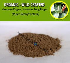 POWDER Javanese Pepper Javanese Long Pepper Piper Retrofractum Organic Wild - $17.25+