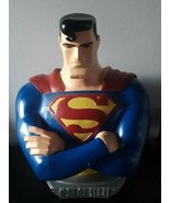 "Vintage Warner Bros Superman Statue Figurine Bust  20"" Tall Collectible ... - $168.25"