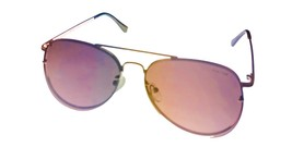 Kenneth Cole Reaction Gold Front Mount Mens Metal Sunglass Aviator, KC... - $17.99
