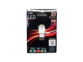 Brand new feit electric LED Bulb Sw Gy8.6 2.5watt  3000k soft white non-dimmable - $12.38