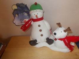 "Hallmark Jingles, Snowman and Dog ""Jingle Bells"" - $19.99"
