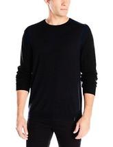 Calvin Klein Men's Merino Crew W/ Rib Detail Sweater - Choose SZ/Color - $53.33+