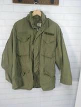 Us Army 1st Infantry Division M-65 Og 107 Field Jacket Dated Vietnam War Era - $99.95