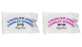 Cavalier King Charles Spaniel Mom and Dad Pillow Cases (Couple) - $19.55