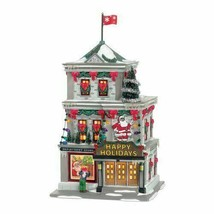 Dept 56 A Christmas Story Village HAPPY HOLIDAYS Department StoreLit Bui... - $94.99