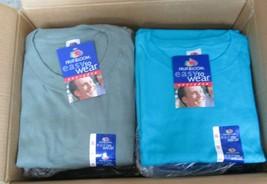 Men's Women T-Shirt Fruit of The Loom 3XL 72 Pc 2 colors 100 % Cotton Moss - $204.25