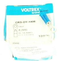 LOT OF 46 NEW VOLTREX CRS-DY-1408 STUDS 16-14 AWG image 1