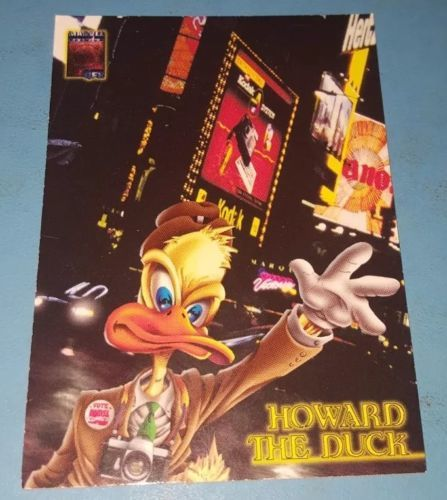 1997 MARVEL QFX HOWARD THE DUCK PROMO COMIC CARD NO NUMBER