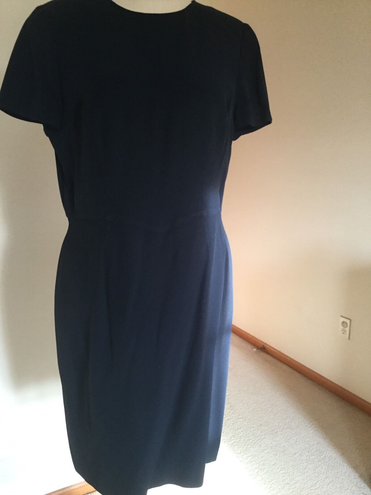 Armani dress,US Size 12,Navy,Short sleeves, image 1