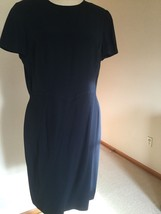 Armani dress,US Size 12,Navy,Short sleeves, - $59.40