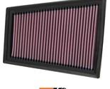 K&N Replacement Air Filter Fits Nissan Sentra 2.0L-L4; 2007-2012 33-2376