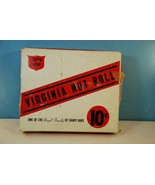 Vintage Queen Anne Virginia Nut Roll Candy Box - $16.70