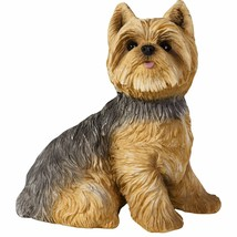 Sandicast Sculpture: Yorkshire Terrier, Sitting, Small Size (SS22302) - $14.24