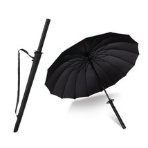 Samurai Sword Umbrella Large Windproof UV Save Protection Long Handle St... - $17.82+