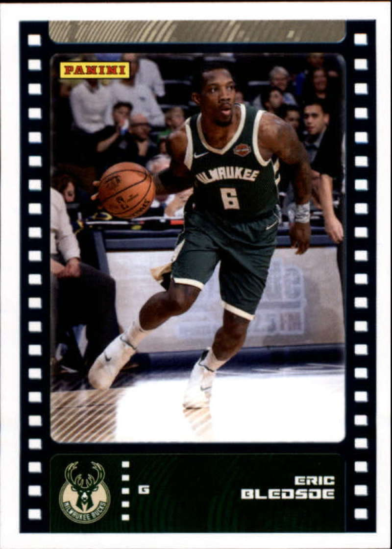 Primary image for 2019-20 Panini NBA Sticker Box Standard Size Insert #43 Eric Bledsoe Milwaukee B