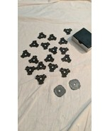 """17 emerson 45 RPM 7"""" Snap-In Record Adapters + 2 metal adapters - $9.89"""