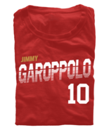 Jimmy Garoppolo T-Shirt San Francisco 49ers SF NFL Soft Jersey #10 (S-3XL) - $18.95 - $20.95