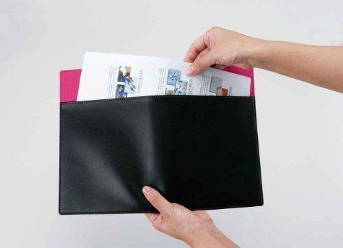 Reimeifujii refill file A5 leather Blue WAF152A