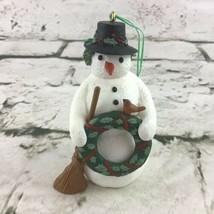 "Hallmark Keepsake ""Christmas Snowman"" Marjolein Bastin Ornament Vintage ... - $9.89"