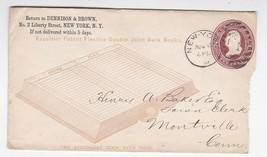 DENNISON & BROWN NEW YORK NY UNKNOWN YEAR - $2.68