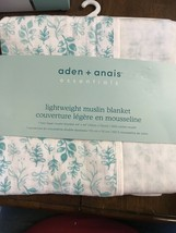 "《NEW》aden + anais Essentials Lightweight Muslin Stroller Blanket, 44""x44"" - $39.60"