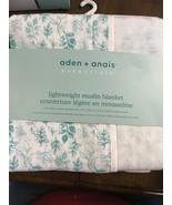 """《NEW》aden + anais Essentials Lightweight Muslin Stroller Blanket, 44""""x44"""" - $39.60"""