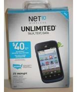 New! Net10 Wireless ZTE Midnight Z768G Cellular Smartphone - $39.99