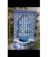 mosaic fountain .fountain length:100cm.fountain width:70cm.fountain  - $4,500.00