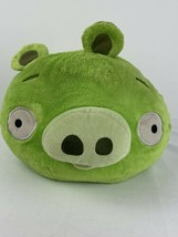 "Plush Angry Birds Large 10"" Tall  Green Pig With No Sound 2010 Commonwea... - $45.53"