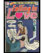 FALLING IN LOVE #116 1970-DC ROMANCE-WEDDING DRESS COVR VG - $25.22