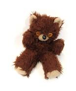 Vintage Old Teddy Bear Well Loved Scruffy Loosing His Stuffing Orange Eyes - $58.00