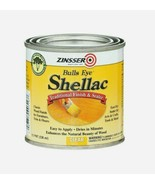 Zinsser BULLS EYE Shellac 0.5 oz CLEAR Traditional FINISH/SEALER Easy Ap... - $12.99