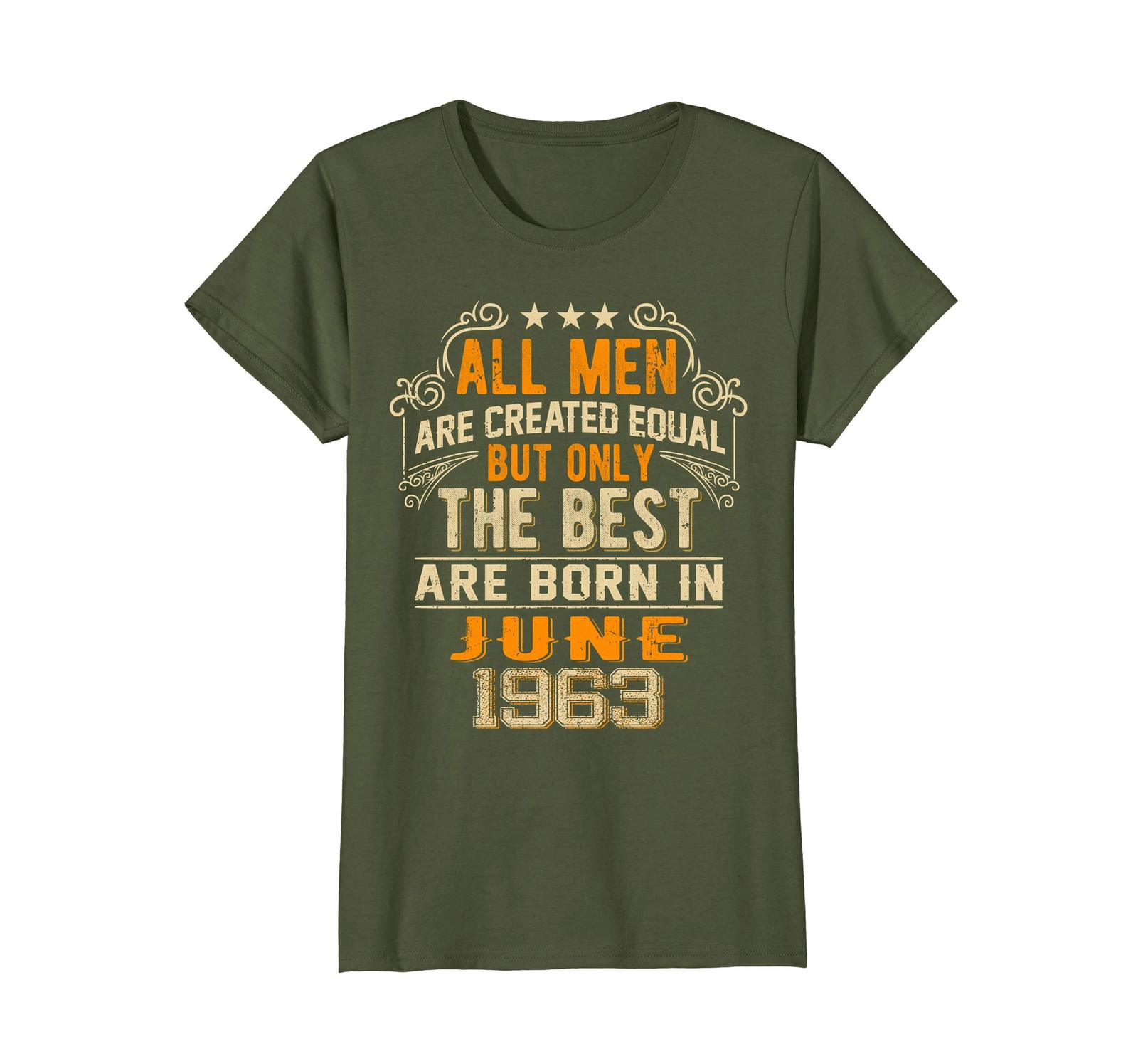 Uncle Shirts -   Retro All Men The Best June 1963 55th Birthday Gifts 55 yrs Wow