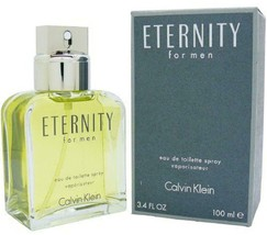 Eternity By Calvin Klein For Men Edt 3.3 / 3.4 Oz New In Box - $36.14