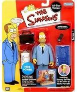 The Simpsons Herb Powell Action Figure NIB Playmates Toys Series 1 Fox - $29.69