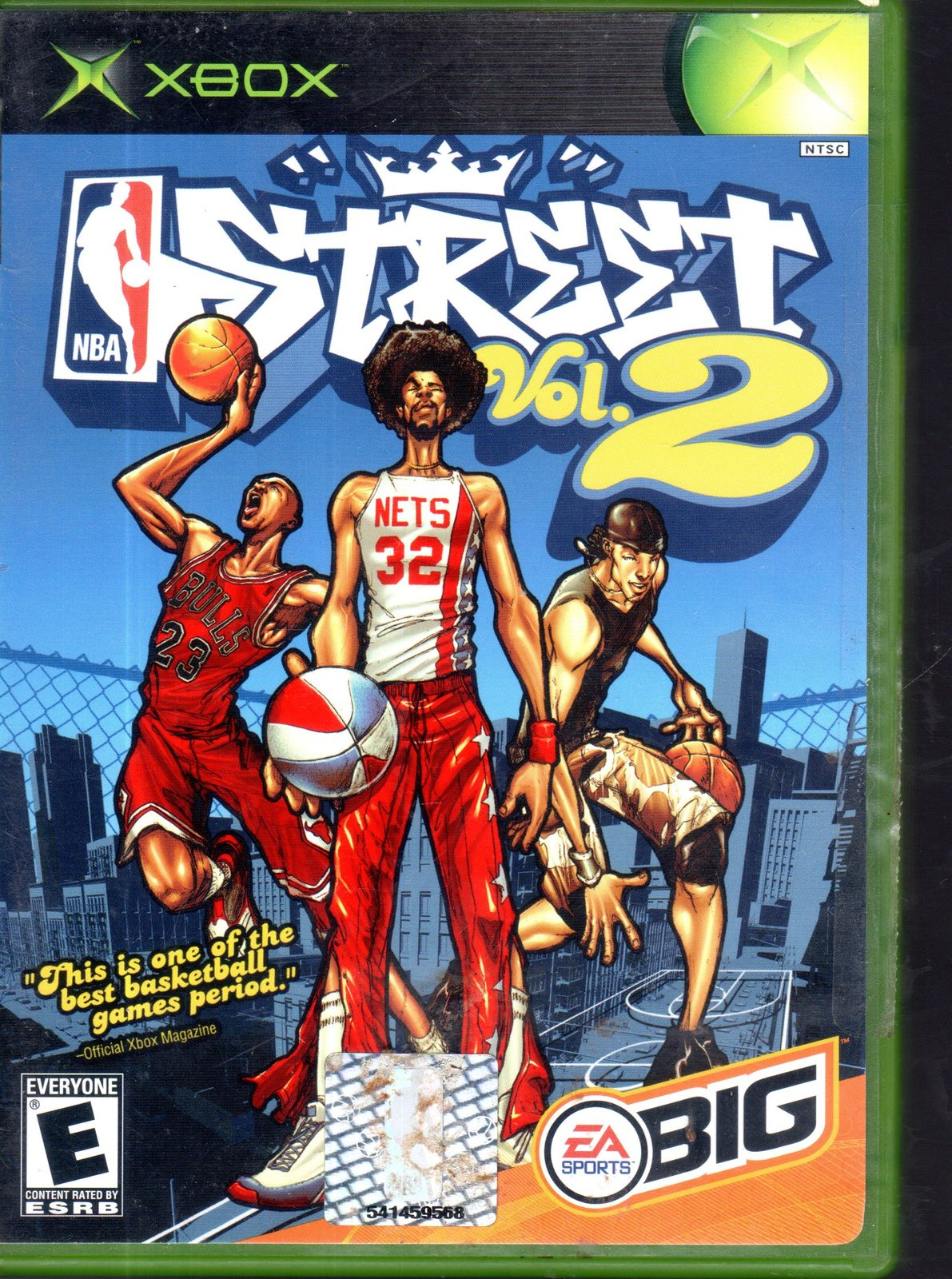 Primary image for NBA Street Vol. 2 (Xbox, 2003)