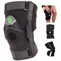 DISUPPO Hinged Knee Brace Support Women Men, Adjustable Open Patella Sta... - $44.10