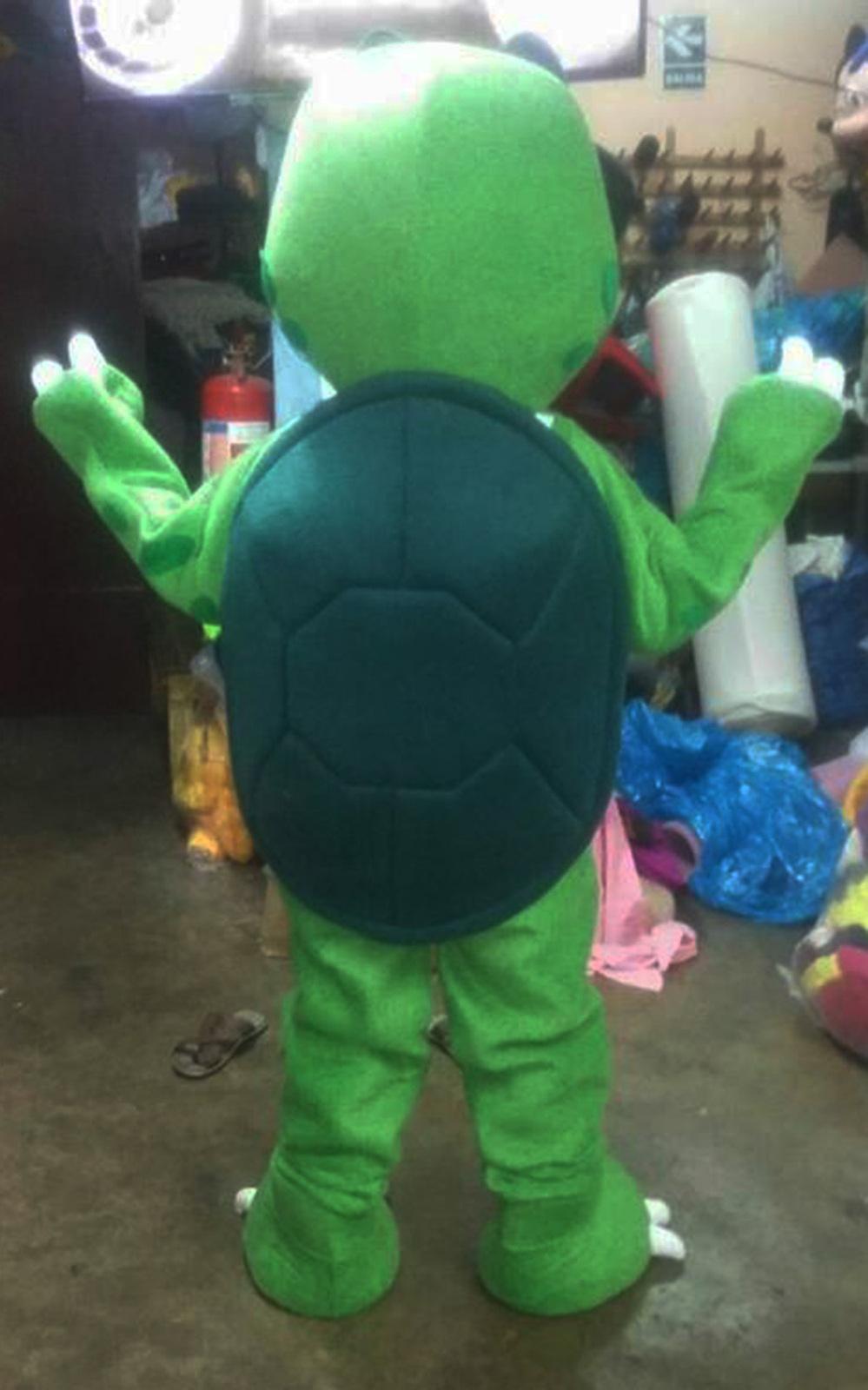 Turtle Mascot Costume Adult Character Costume