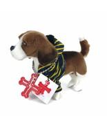 Manhattan Toy Fuzzy Nation Plush Dog Atticus Beagle Dressed Plush Stuffe... - $14.45