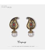 Yhpup® Earrings European Brand Noble India Vintage Retro Antique Imitati... - $2.95