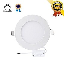H&G 15W 7.1-inch Dimmable Flat LED Panel Light Lamp, 1150lm, 100W Incand... - $23.57